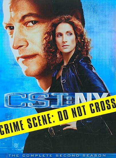 CSI:NY:COMPLETE SECOND SEASON BY CSI: NEW YORK (DVD)